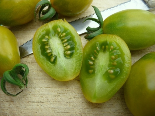 Tomate Green Pear